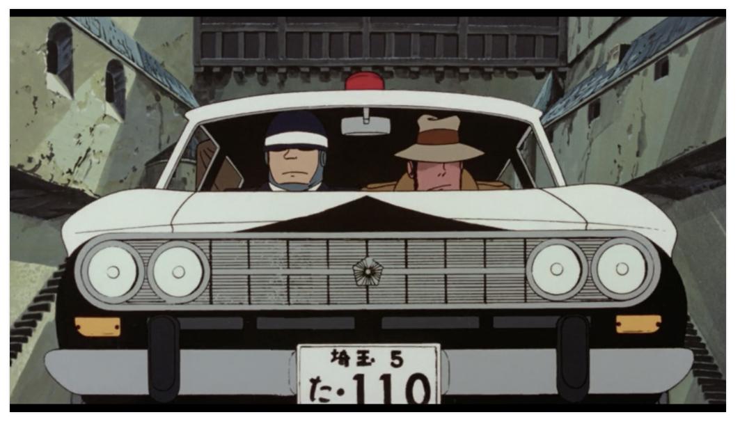 【カリオストロの城】埼玉県警の機動隊がいたのはなぜ?パトカーハンドルの謎についても