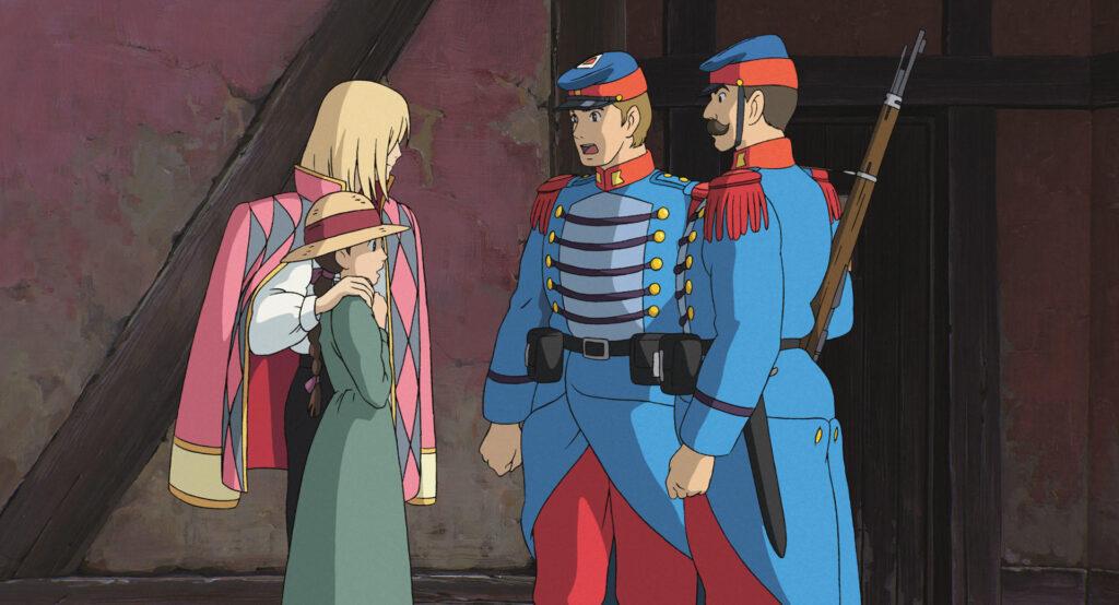 【ハウルの動く城】ハウルとソフィーが初めて出会ったシーン!